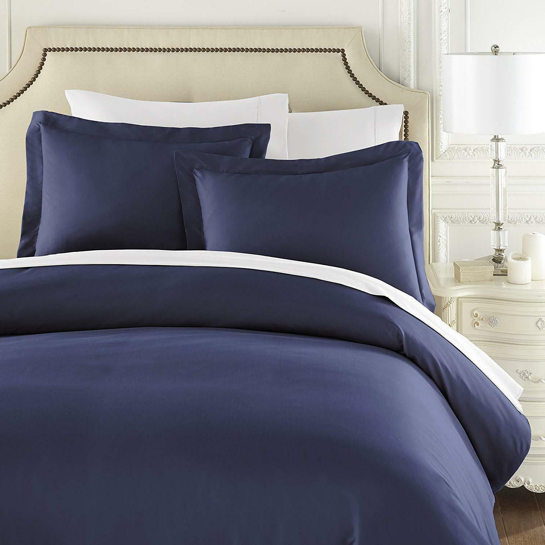 Hotel Duvet Queen King Sheet Set Full Silky Bedding