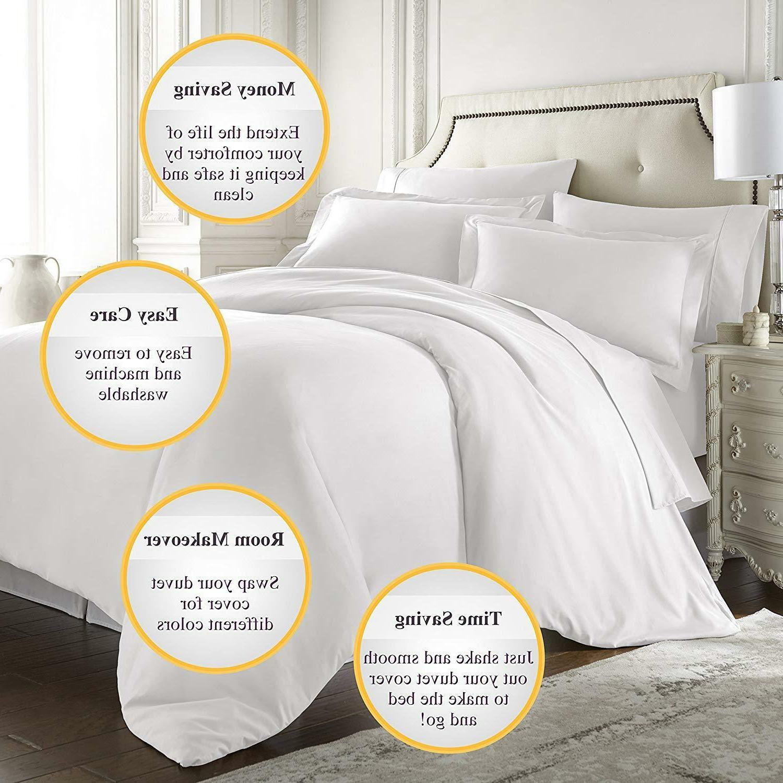 Hotel Queen King Sheet Full Silky Bedding Comforter