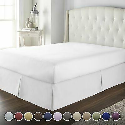 hotel luxury bed skirt dust
