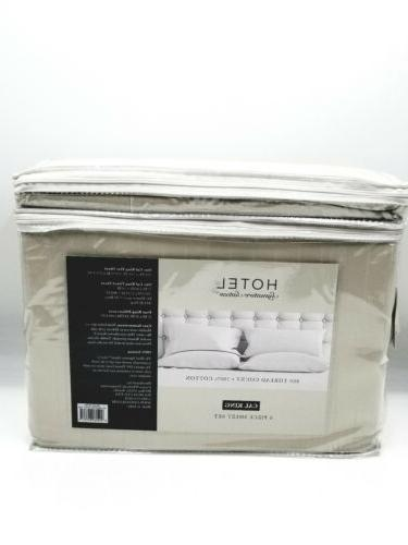Hotel Signature Sateen 800 Thread Count 6 King