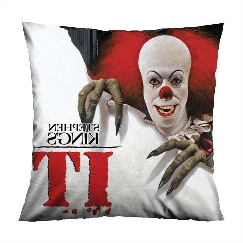 it stephen king s decorative zippered pillow