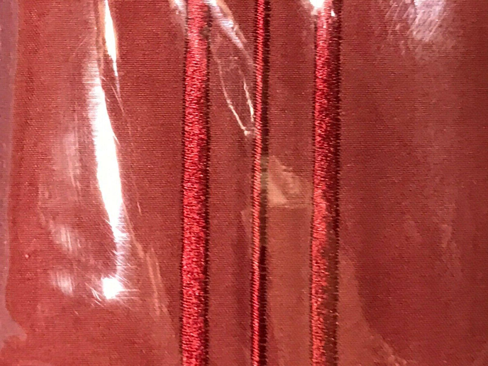 Sweet Home Collection 4-piece Set. Thread Burgundy