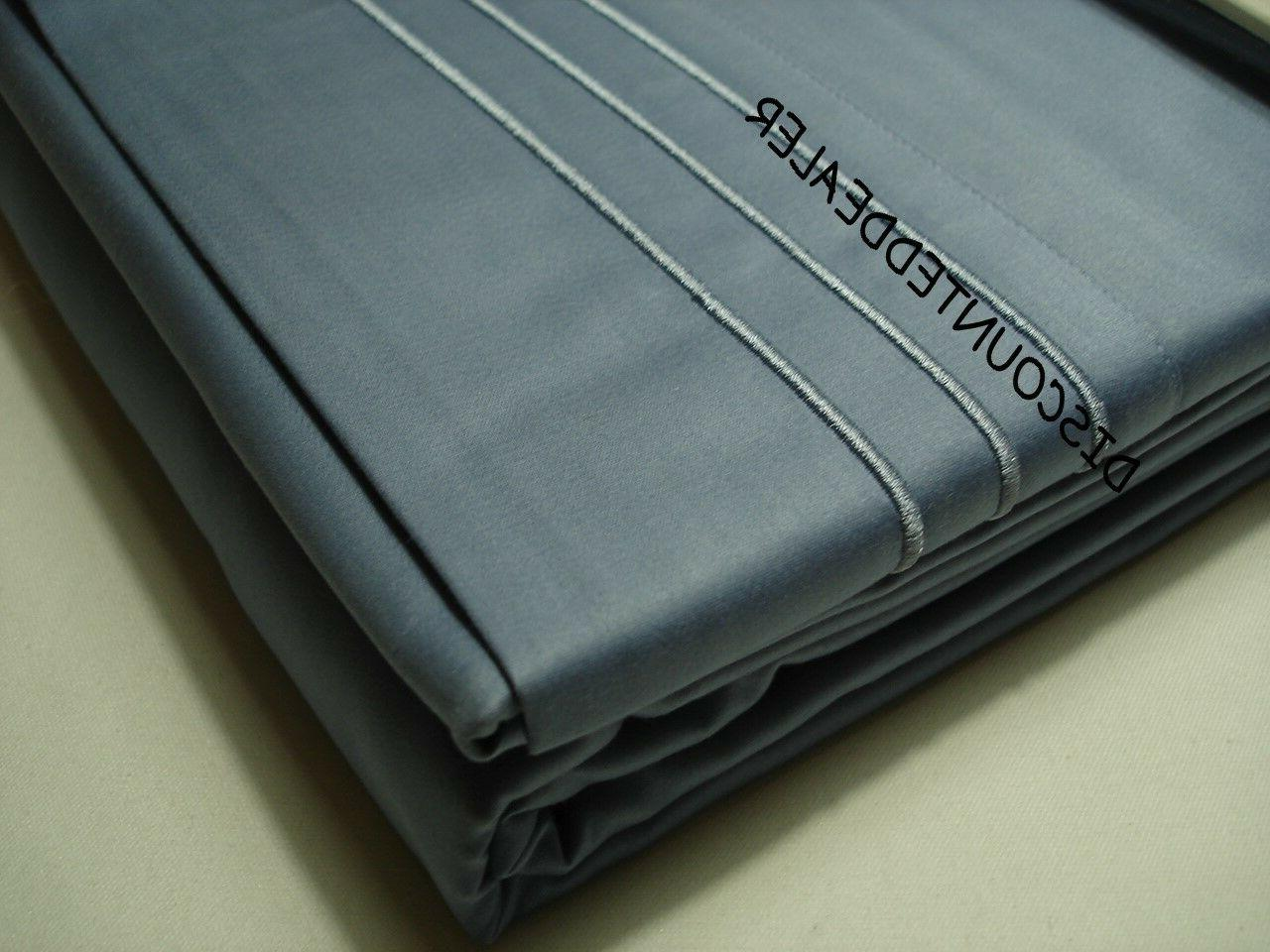 Hudson Sheet 800 Thread Count OCEAN $260 NEW
