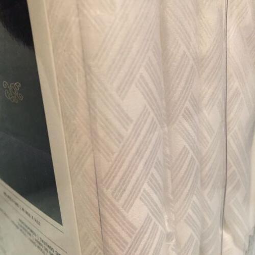 Ralph Lauren KING Flat Sheet BEDFORD JACQUARD White