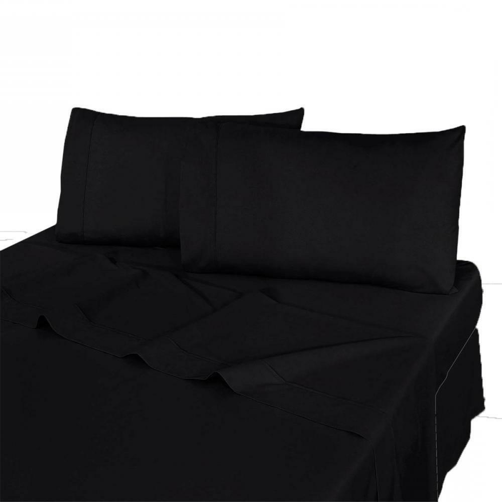 Set Microfiber Sheets Bedding Linens