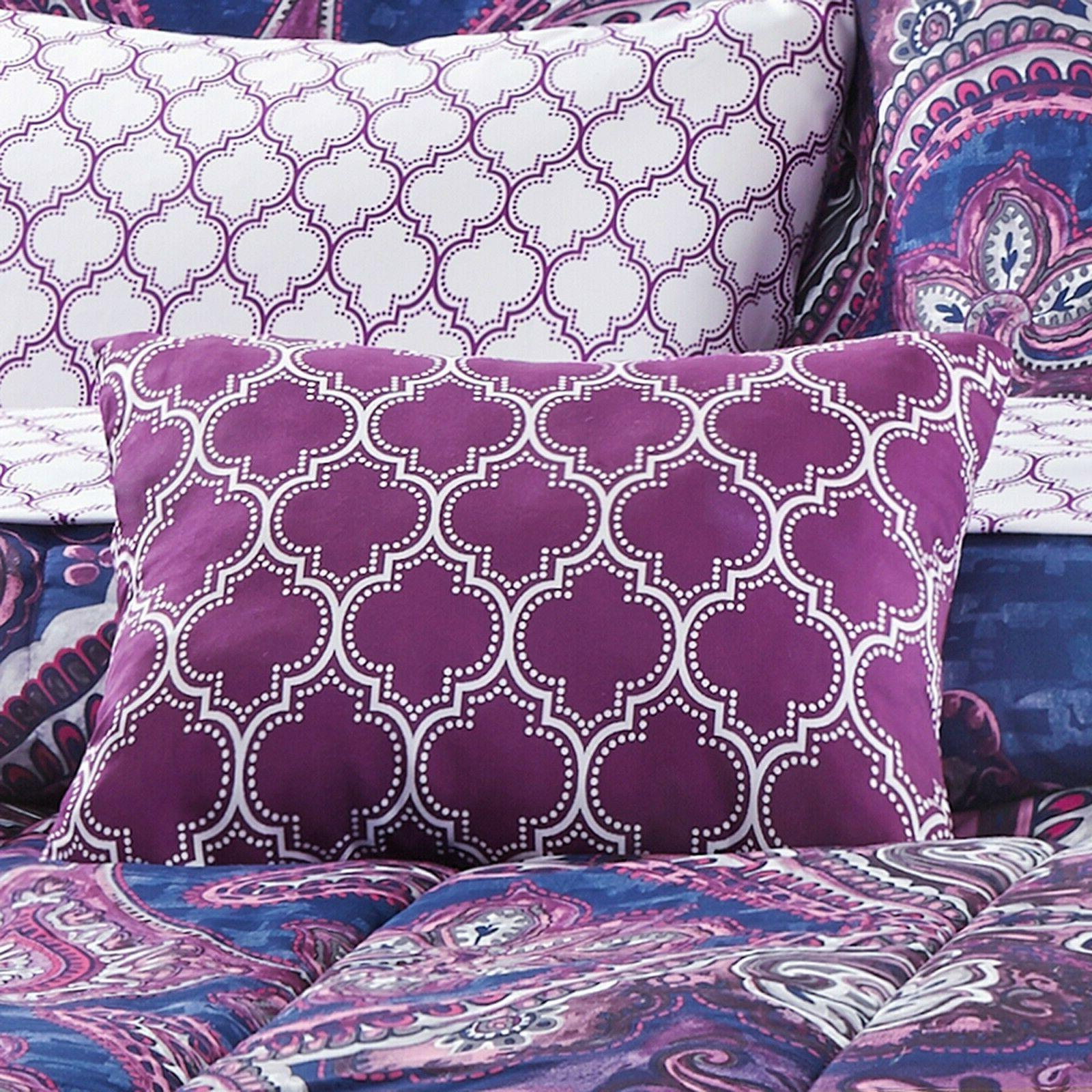 King Set Sheets Sham 8 Purple