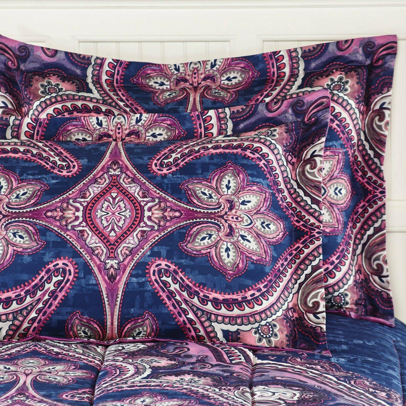 King Size Girls Set Comforter Sheets 8 Purple