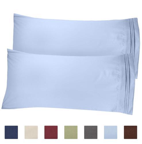 CGK Unlimited King Size Pillow Cases Set of 2 – Soft, Prem