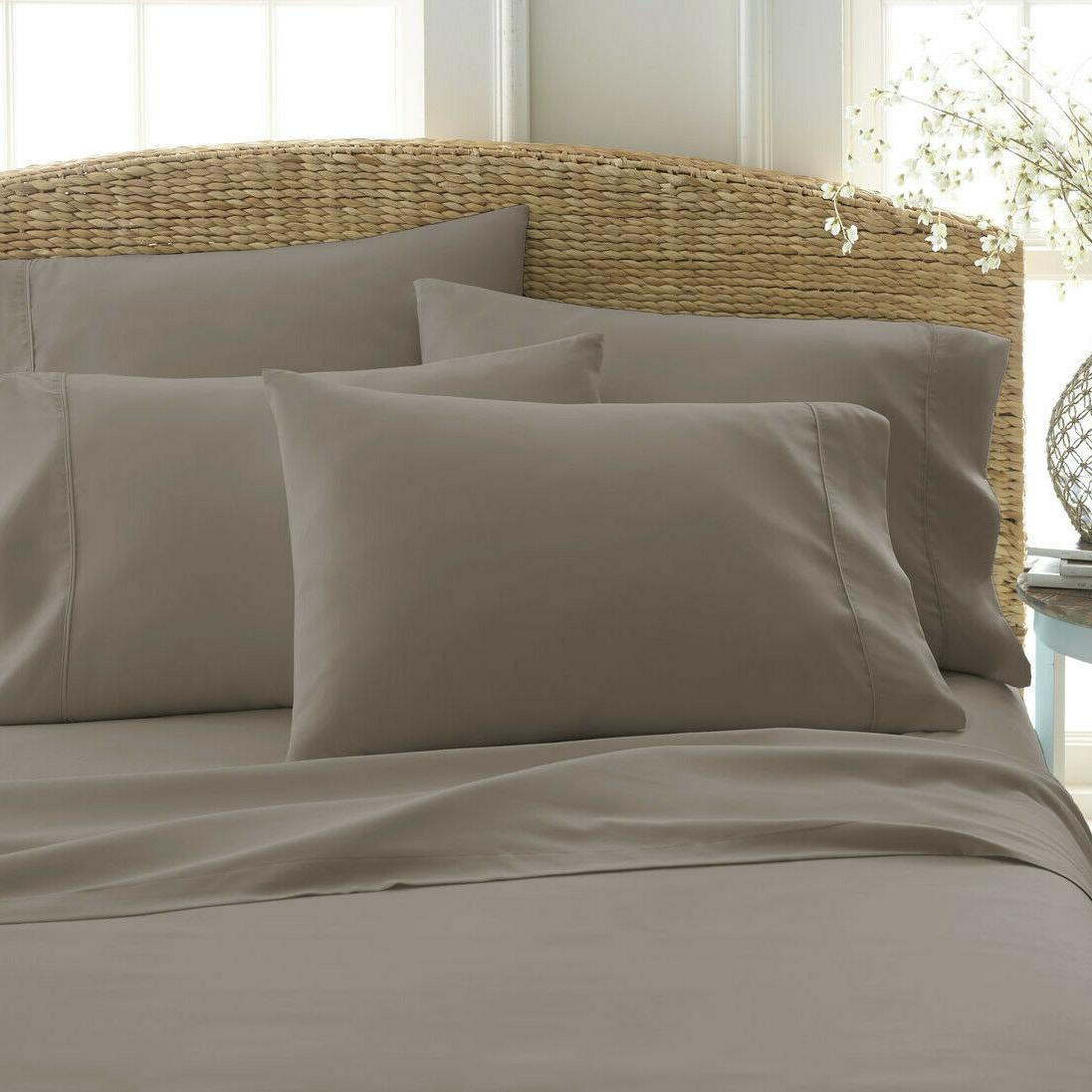 KING SIZE PIECE BED SHEET 4 CASES
