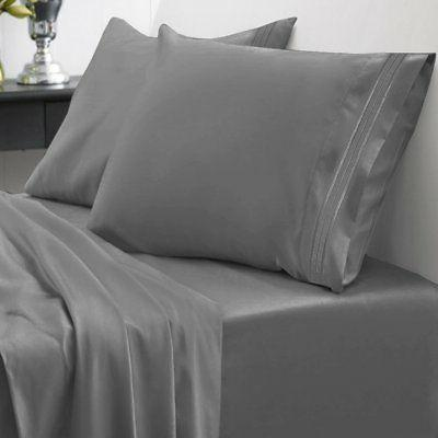 king thread egyptian bed sheet