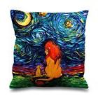 """LION KING ART Decorative Zippered Pillow Case 16"""" 18"""" 20"""" In"""