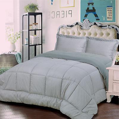 Sweet Home Collection Loft 3 Piece Reversible Comforter Set