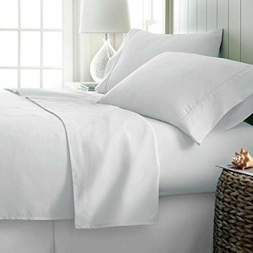 Luxurious Bedding Set 1000 Thread Count Pure Cotton Flat/Fit