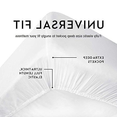 CE CASA ESENCIA Luxury 100% Egyptian 1000 Bed Sheet Stripe