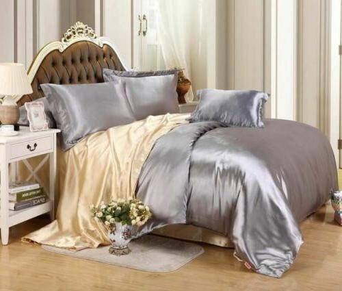 Luxury Sets Cover Flat Fitted Sheet Twin Full Queen