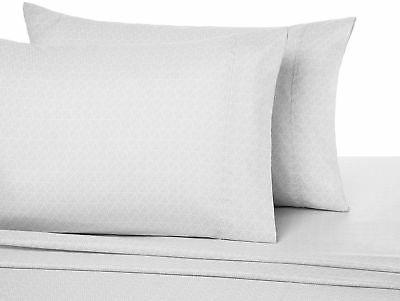 AmazonBasics Microfiber Sheet - Cal Crosshatch 1-Pack
