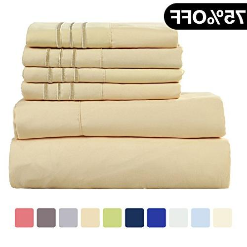 microfiber sheet set super soft
