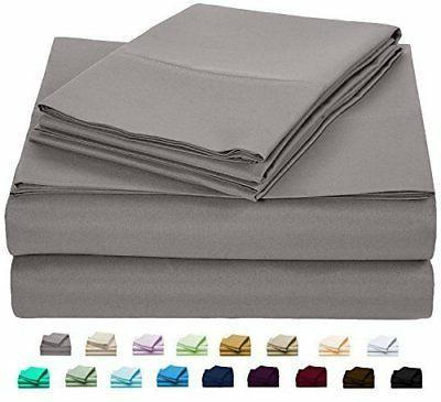 new ultra soft bed sheets set 6