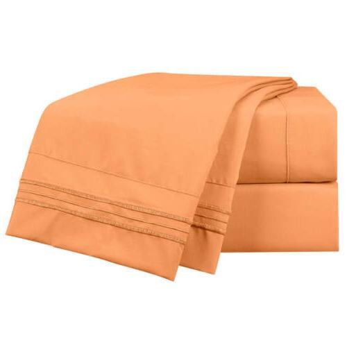 NEW Unique Sizes Brushed Soft Sheets, Sheet Set