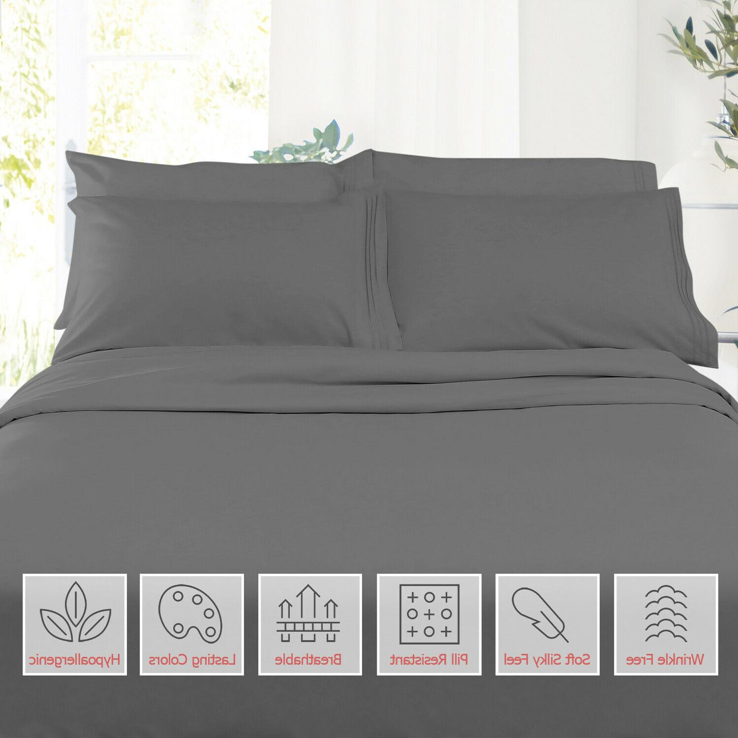 new double brushed soft microfiber hotel style