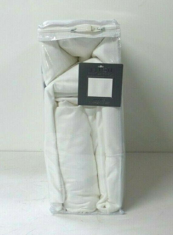 NEW Hotel 800 Thread Pc Sheet Set White