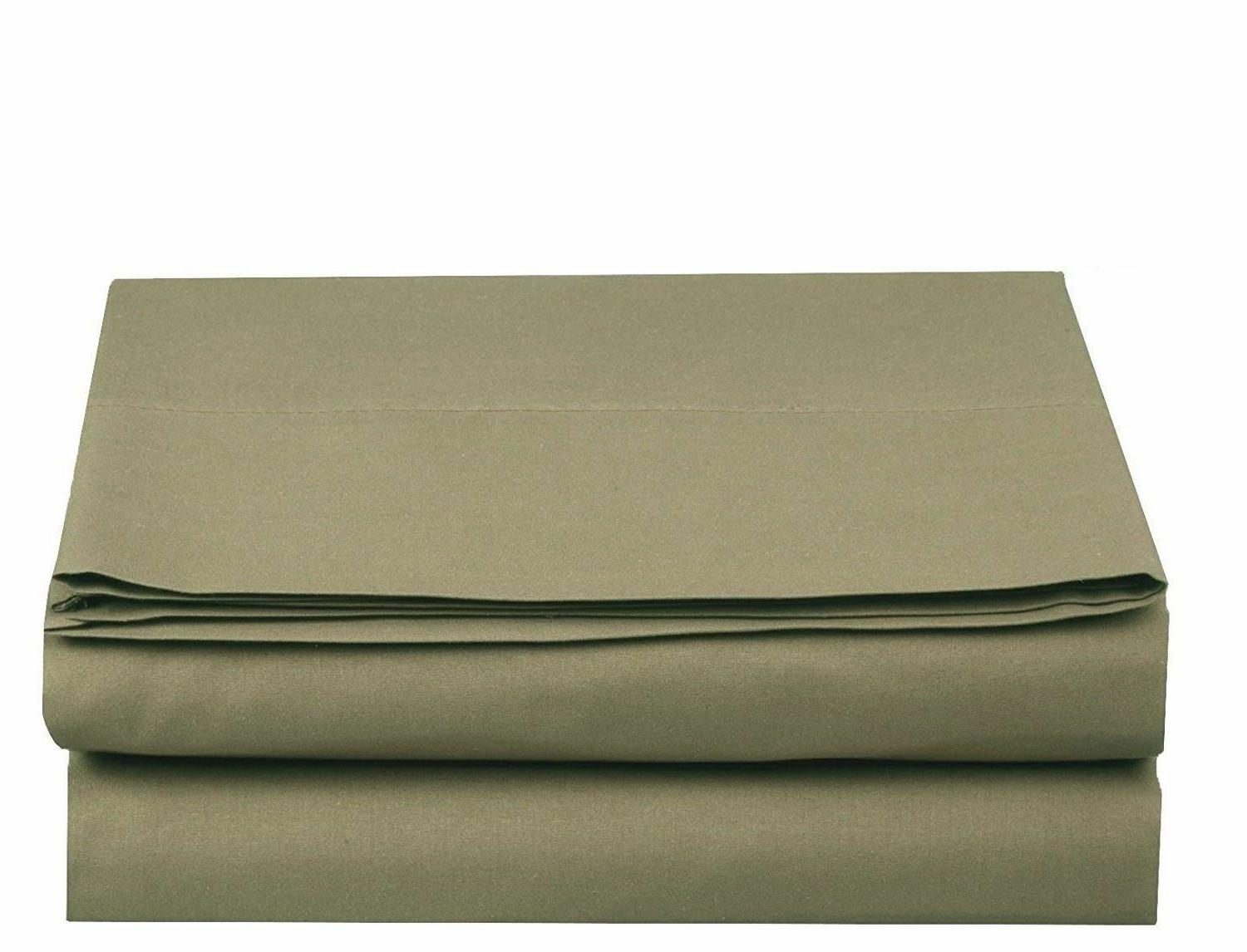 New Luxury Flat & Fitted Sheet 1500 Thread Count Egyptian Co