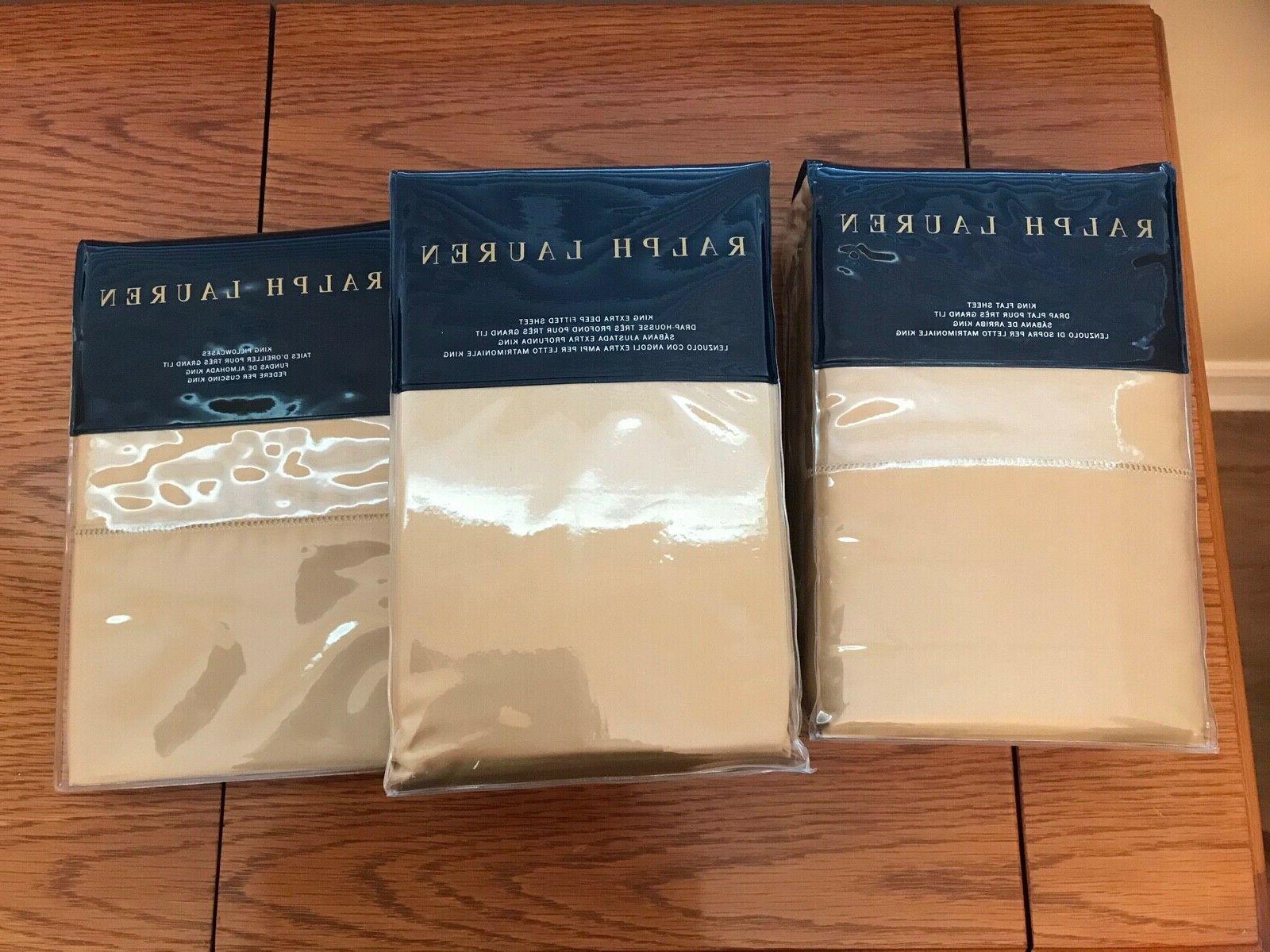 new ralph lauren 4 pc king sheet