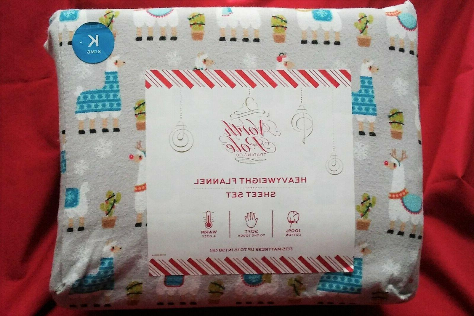 north pole trading co heavyweight flannel sheets