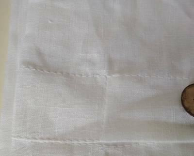 Pillow case Flax/King Standard/Natural Brown