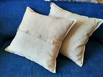 Pillow Flax/King Gray Brown