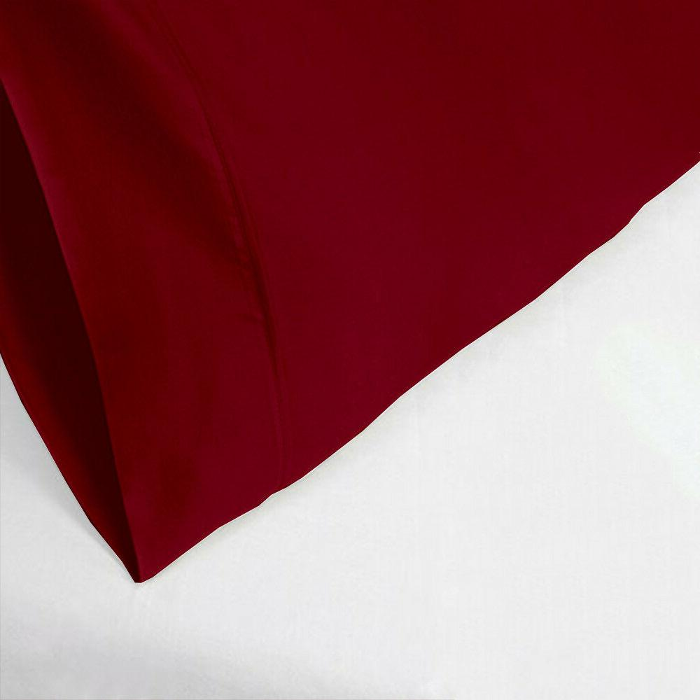 pillow home Burgundy Color Standard/King//Body/Square
