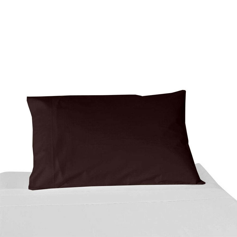 pillow home home Chocolate Solid Standard/King//Body/Square