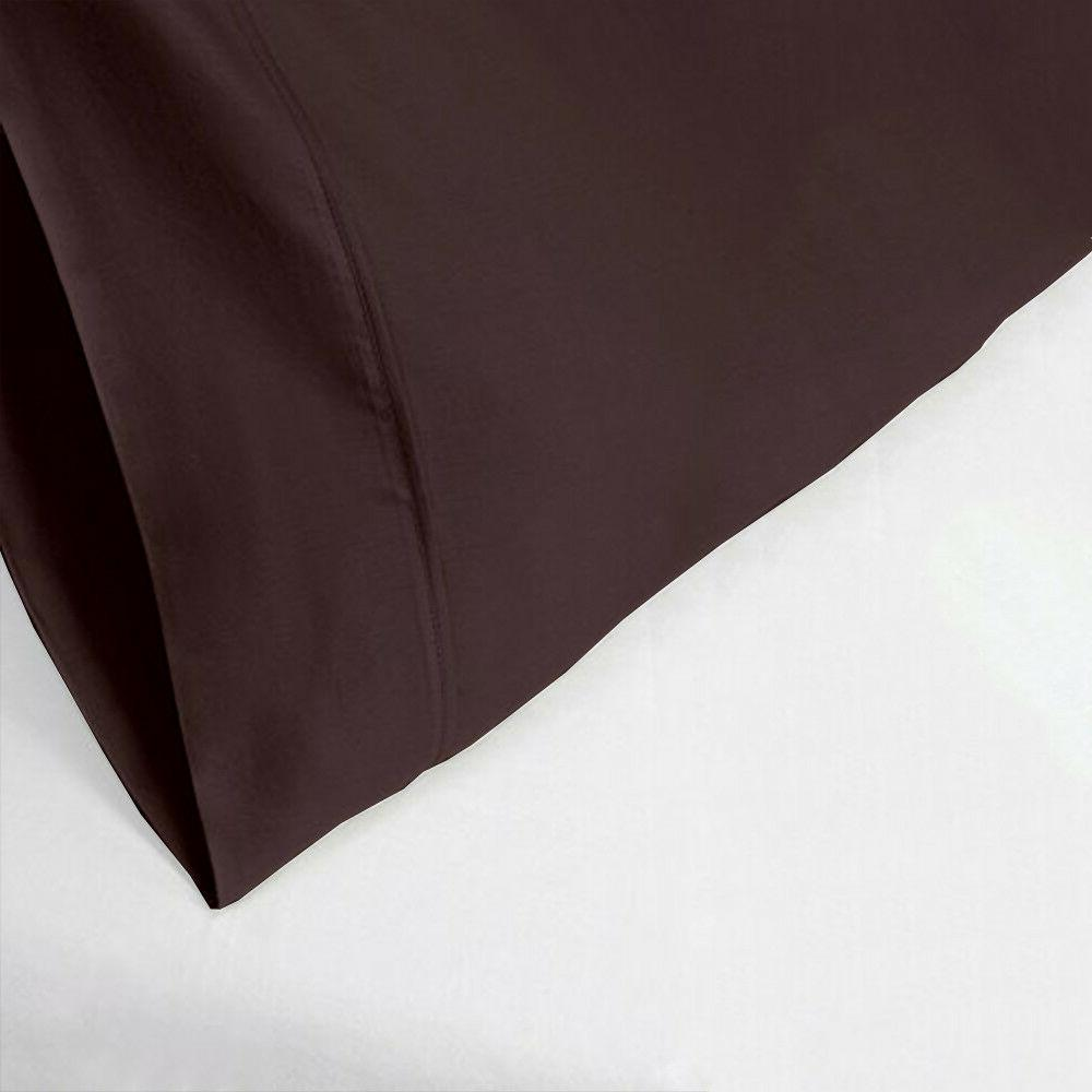 pillow cover home sweet home chocolate solid