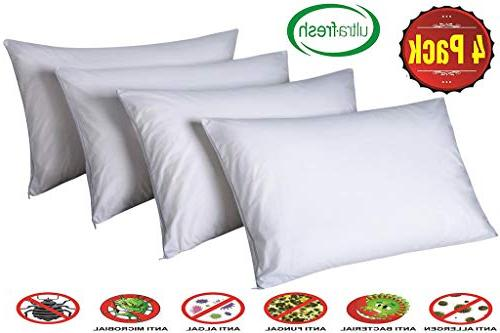 pillow protectors king lab certified