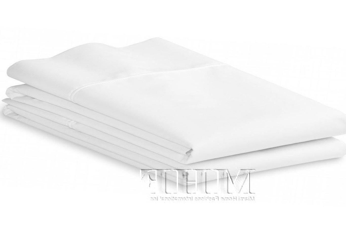 Pillowcases- Bright White- Soft Brushed Microfiber-Standard/