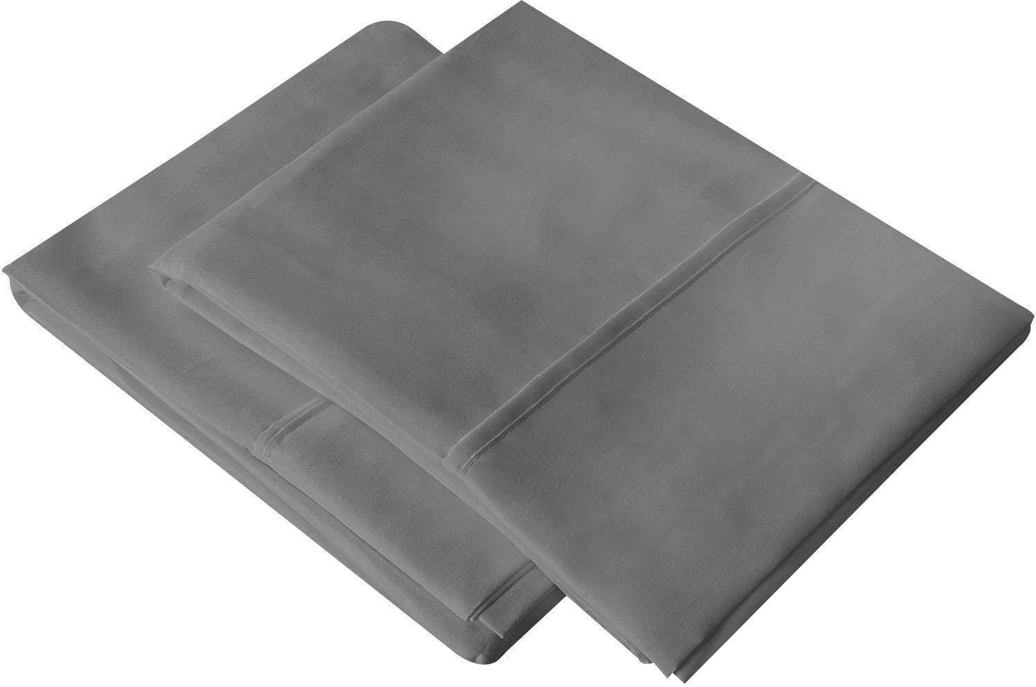 Utopia Bedding Pillowcases 2 Pack Brushed Microfiber Pillow