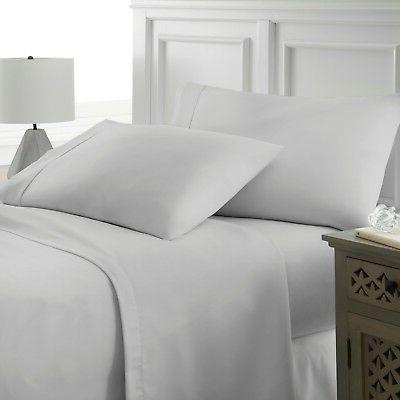 premium hotel quality 4 piece deep pocket