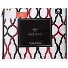 quatrefoil print 4 piece king sheet set