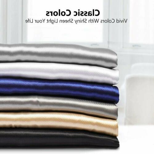 Silk Pillowcase Pillow Case Cover Ultra Soft Of 2PCS