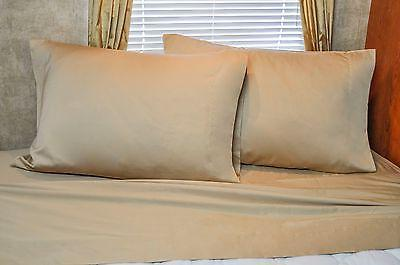 AB Lifestyles RV King Camper Sheet Set 100%  Cotton 72x80