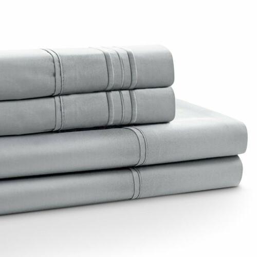Soft Set 4 Deep Bedding Full Twin Size