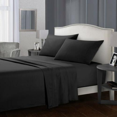 Soft Bed 4 Piece Bedding Full