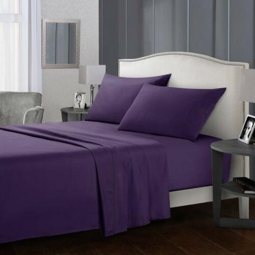 Soft 4 Deep Pocket Bedding Full Twin Size