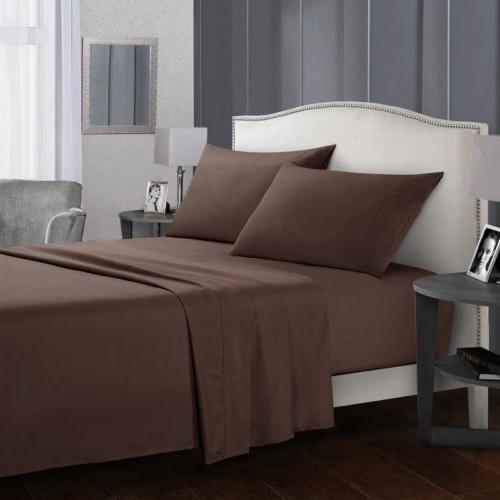 Soft Bed 4 Bedding Queen King Full Twin