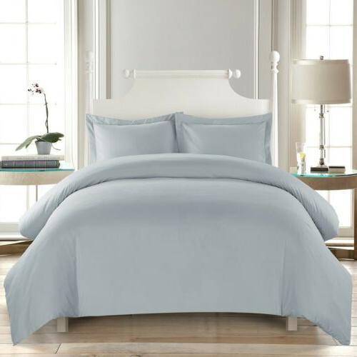 soft duvet cover comfort 1800 count microfiber