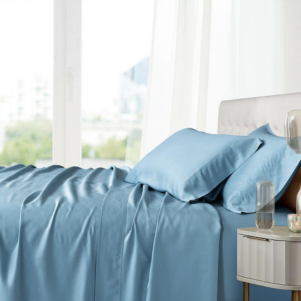 split cal king bed sheet set 100