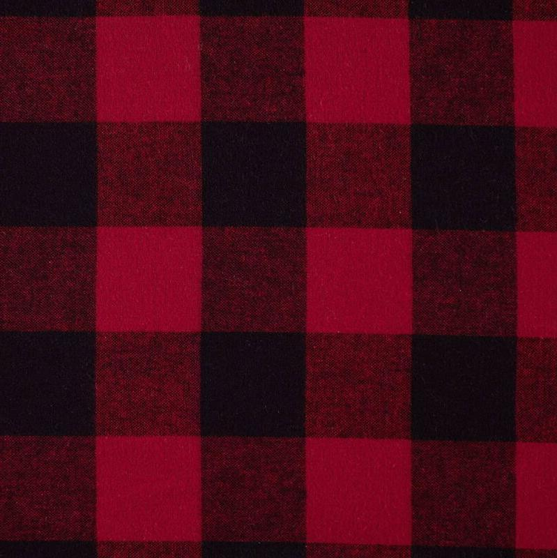 Stone Beam Check Soft And Breathable Flannel