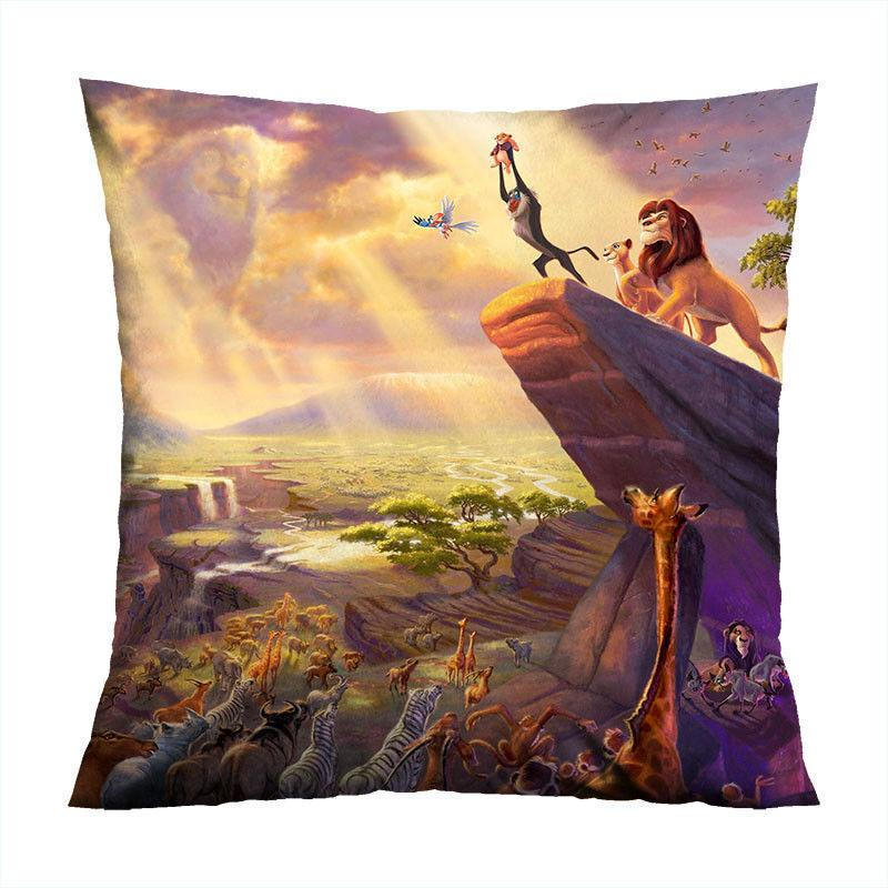 the lion king hakuna decorative zippered pillow