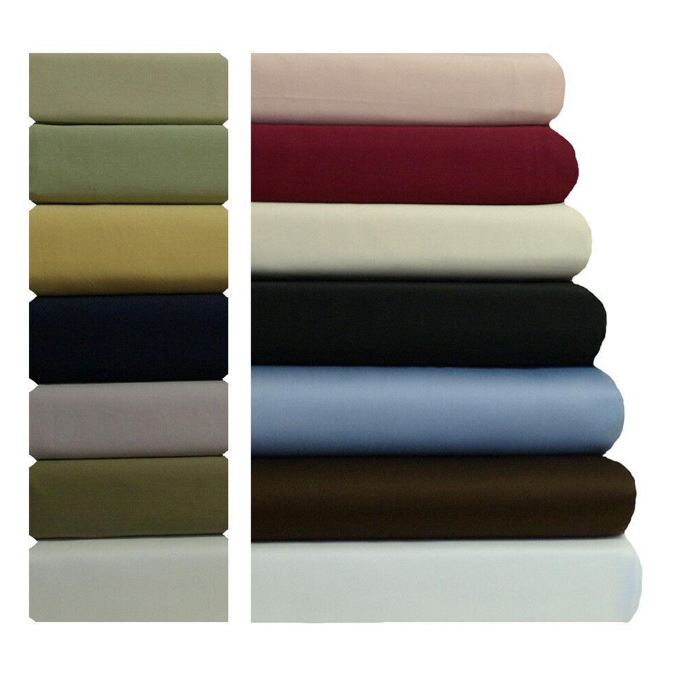 Split Top King Sheet Set Head Split Cotton Sateen Sheets