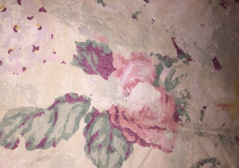 Vintage Lauren Francesca Floral Sheet New without